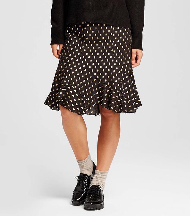 Who What Wear Swing Skirt