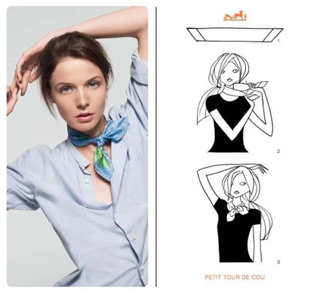 How-To-Tie-A-Hermes-Scarf