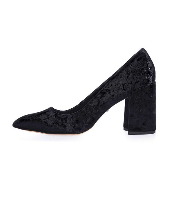 Topshop GRAM Flared Heel Shoes
