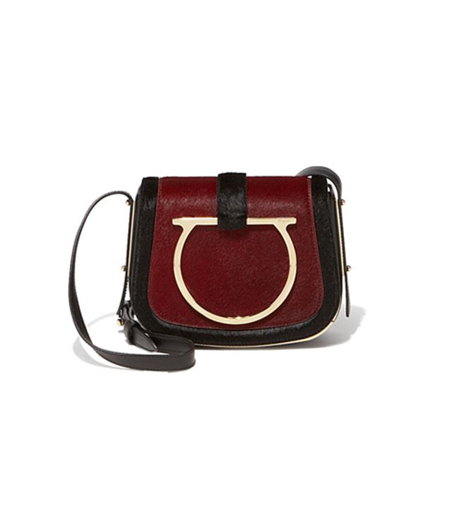 Salvatore Ferragamo Gancio Messenger Bag