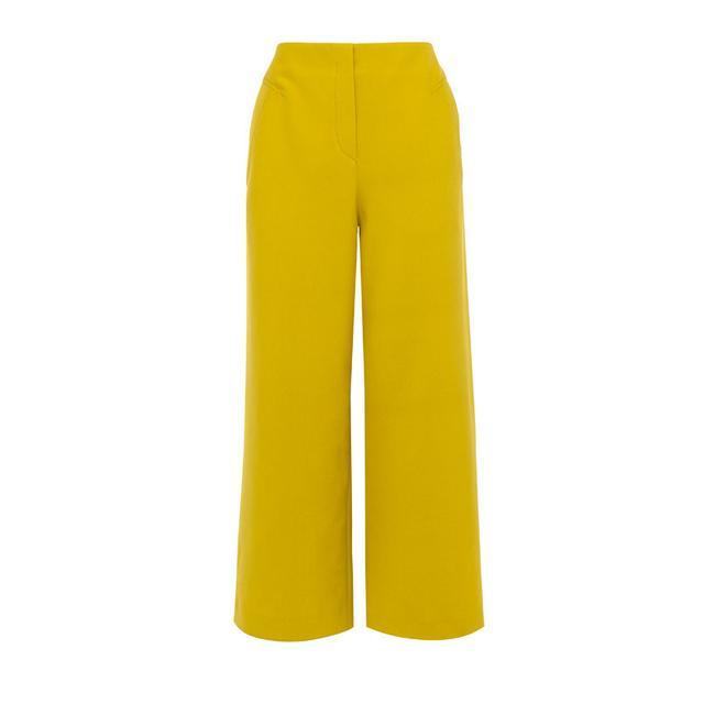 Karen Millen Cropped Wide-Leg Trousers