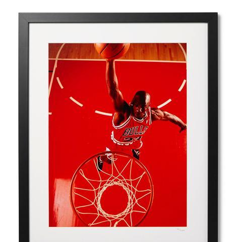 Framed Michael Jordan Print