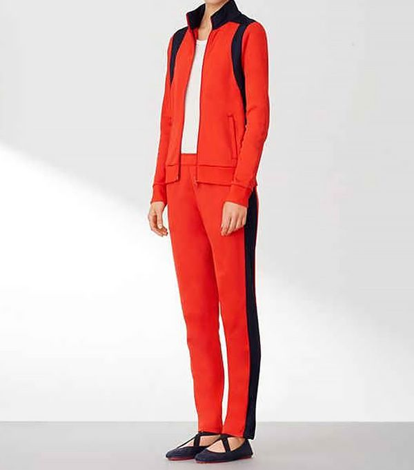 Tory Sport Color-Block Track Pant