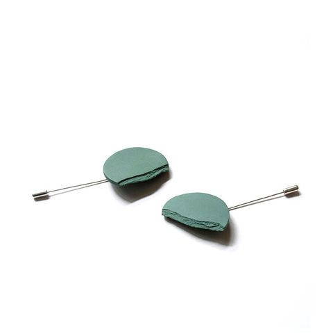 Green Horizon Brooch