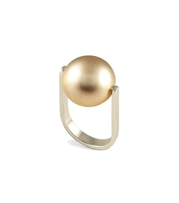 French Connection Orbital Bead Ring