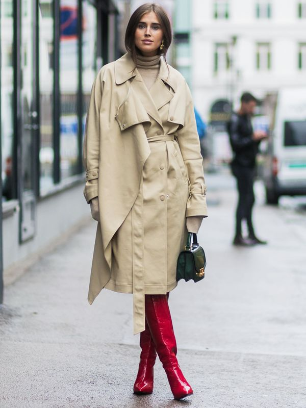 How To Wear Red Boots Plus Shop The Best Here Whowhatwear Uk