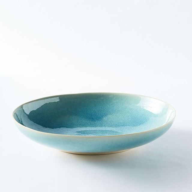 Alta Reactive Glaze Oval Serve Bowl