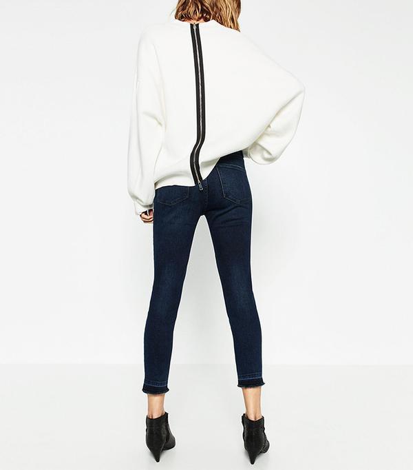 Zara Mid-Rise Jeans