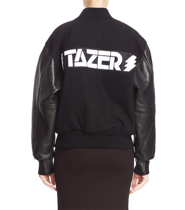 Ashley Williams Tazer Varsity Jacket