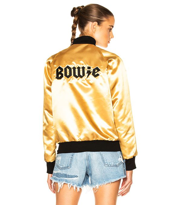 Catherine Fulmer Bowie Bomber Jacket