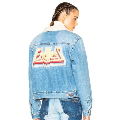 Camden Denim Jacket in Medium Blue