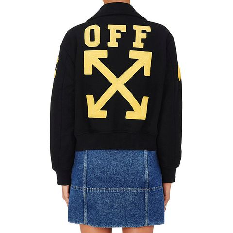 Wool-Blend Varsity Jersey