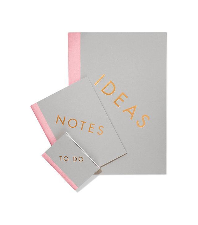 Studio Sarah Set of Three Notebooks