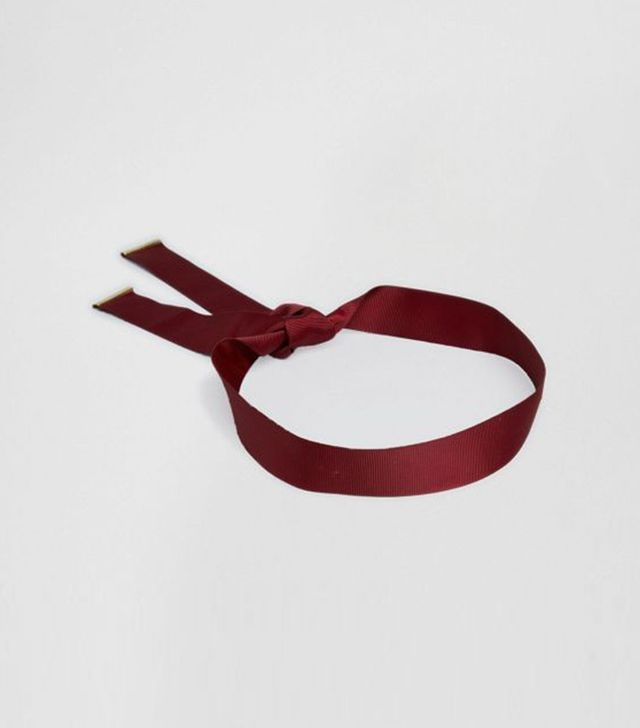 Johnny Loves Rosie Brooke Burgundy Multiwear Ribbon