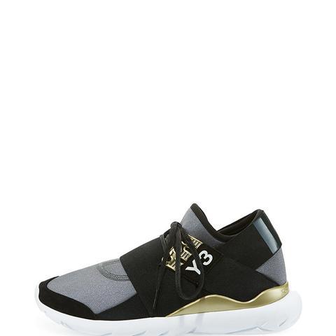 Qasa Elle Trainer Sneaker in Night Metallic