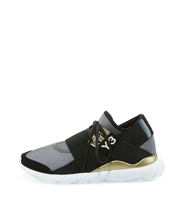 Adidas Qasa Elle Trainer Sneaker in Night Metallic