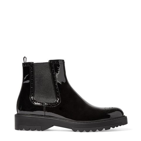 Patent-Leather Chelsea Boot