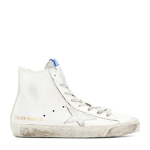 White Francy High Top Sneakers