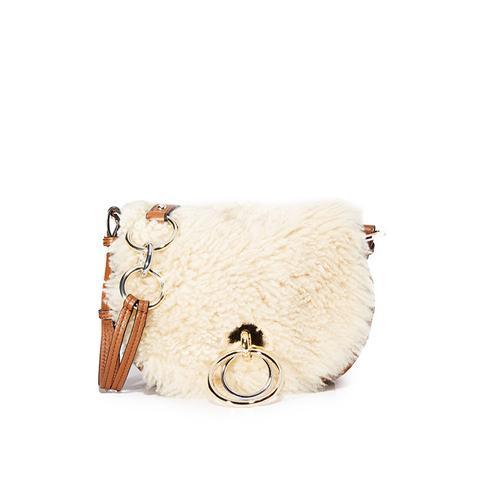 Shearling Love Power Saddle Bag
