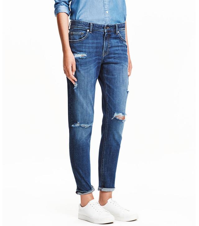 H&M Girlfriend Jeans