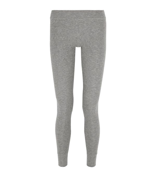 leggings and uggs: ATM Anthony Thomas Melillo Ribbed Stretch-Micro Modal Legging