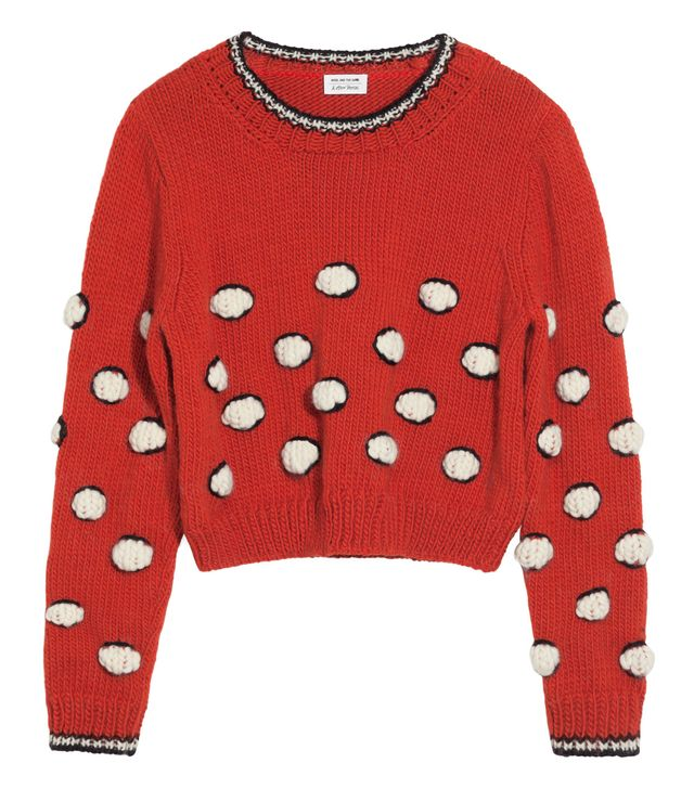 Wool And The Gang & Other Stories Every Stitch You Take Sweater
