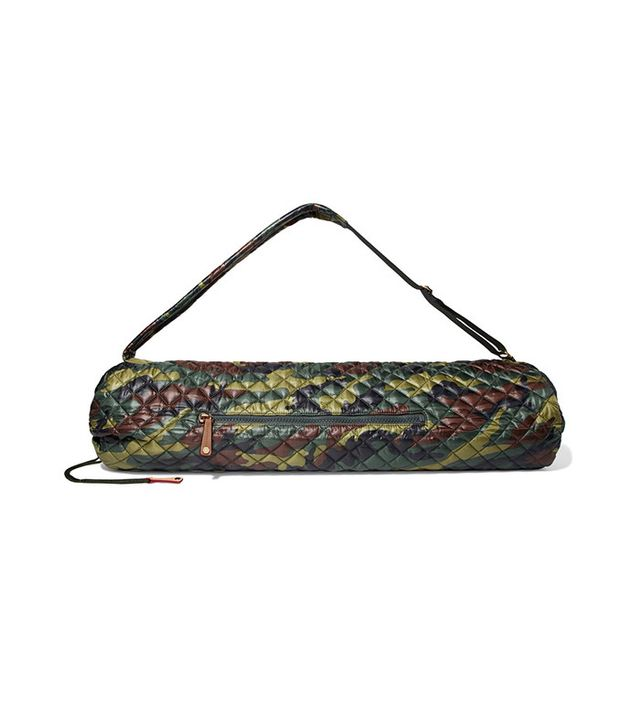 MZ Wallace Metro Camouflage Quilted Yoga Bag