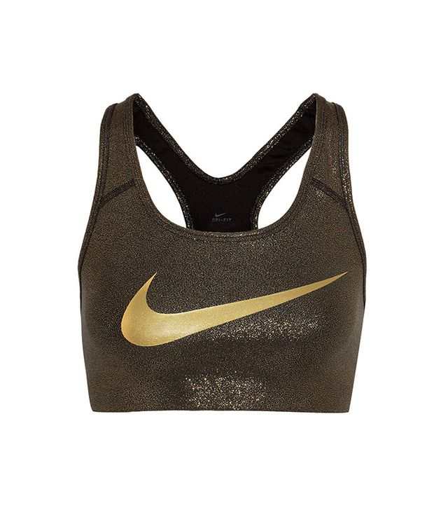 Nike Pro Classic Metallic Sports Bra