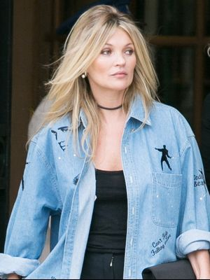 Kate Moss Is Collaborating With the King of Rock 'n' Roll