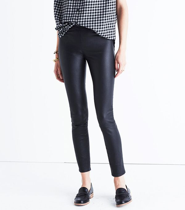 Madewell The Anywhere Leather Pants