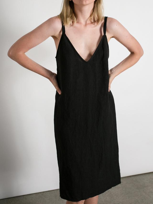 Matin V Neck Dress