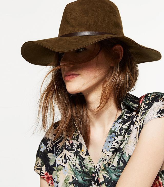 Zara Wide Brimmed Hat