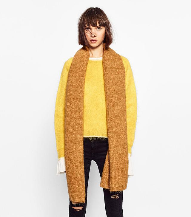Zara Soft Knit Scarf