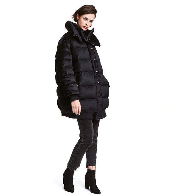 H&M Oversized Velvet Jacket