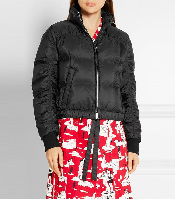 Prada Quilted Shell Down Jacket