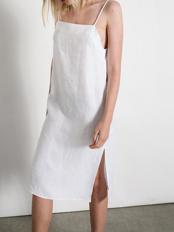 Matin Studio Square Neck Dress