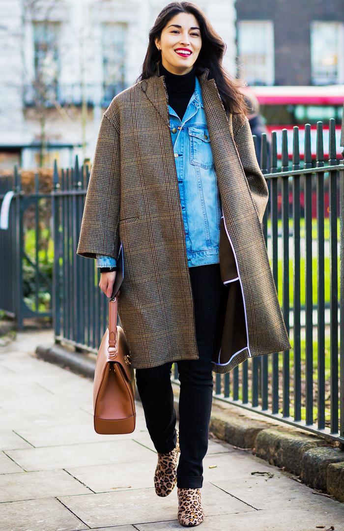 best denim jackets: street style