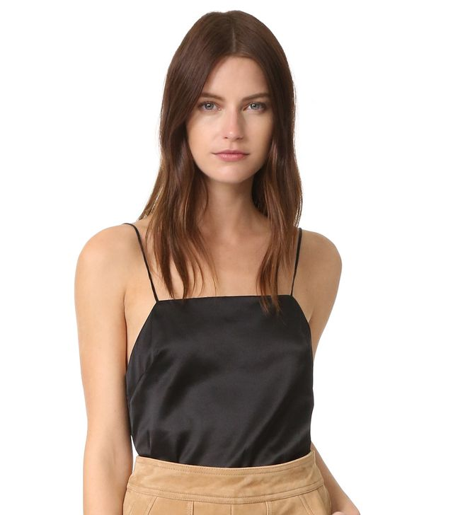 Matin Silk Square Neck Cami