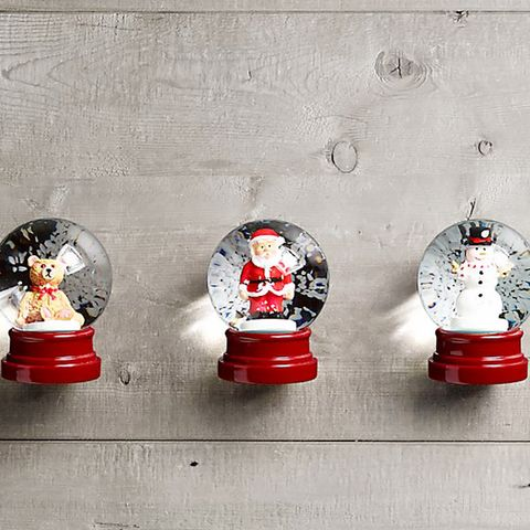 Mini Snow Globes, Set of 3