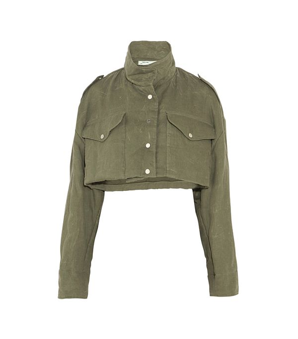 Cropped Canvas Jacket