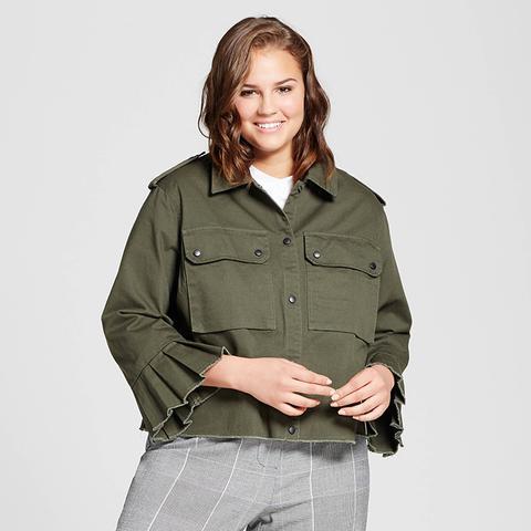 Bell Sleeve Military Jacket