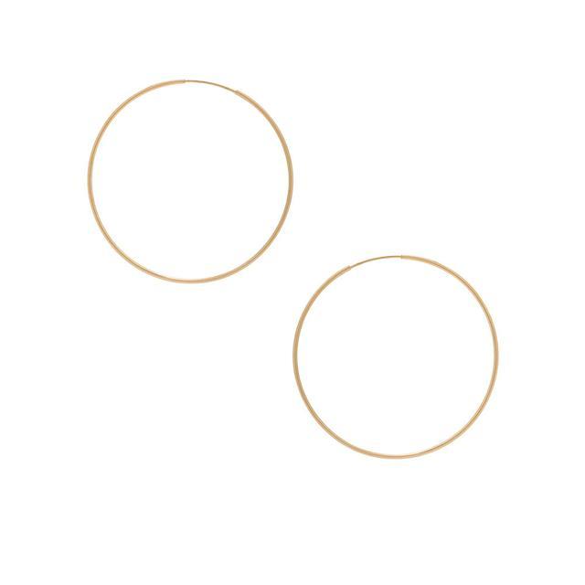 Erth 14K Gold Hoop II Earrings