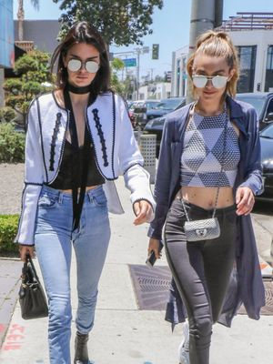 This Is How Kendall and Gigi Treated Themselves After the VS Fashion Show