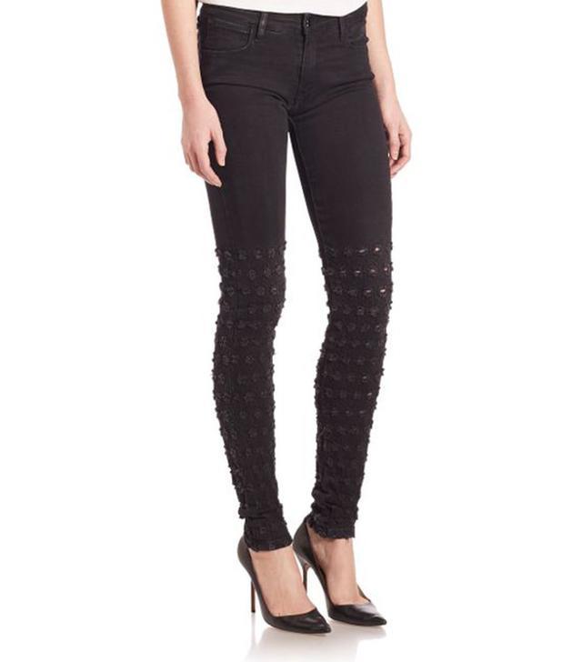 Brockenbow Alveoles Honeycomb Skinny Jeans