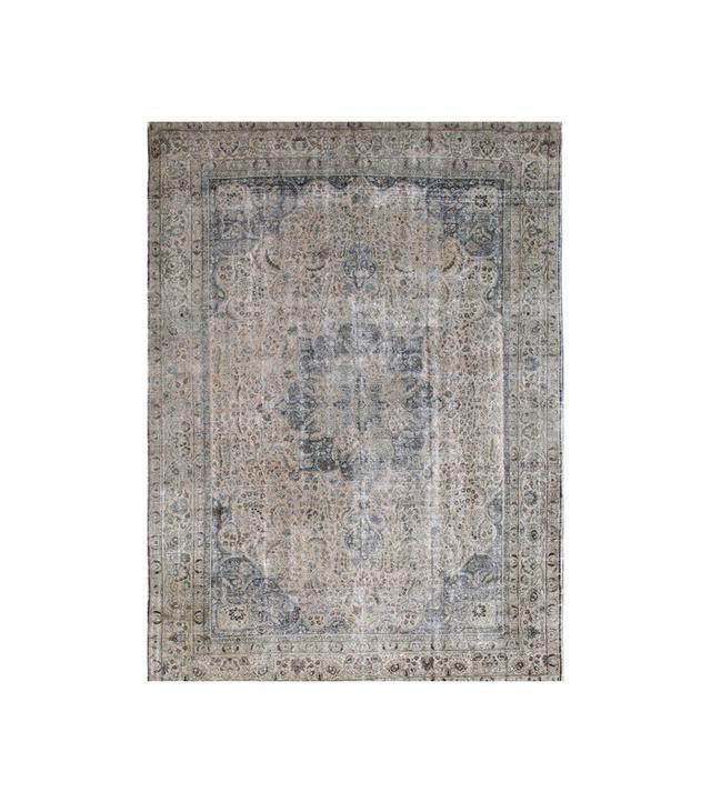 Lawrence of La Brea Antique Tabriz Rug
