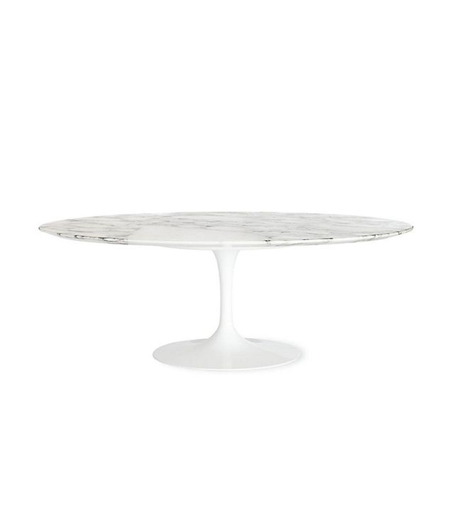 Saarinen Low Oval Coffee Table