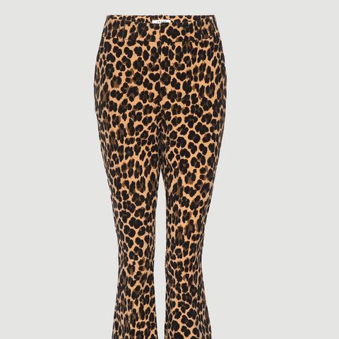 Cheetah Velveteen Flare
