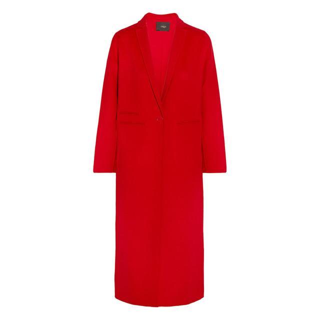 Maje red coat