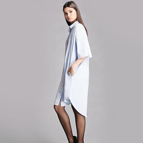 Momokrom Dolman Shirt Dress