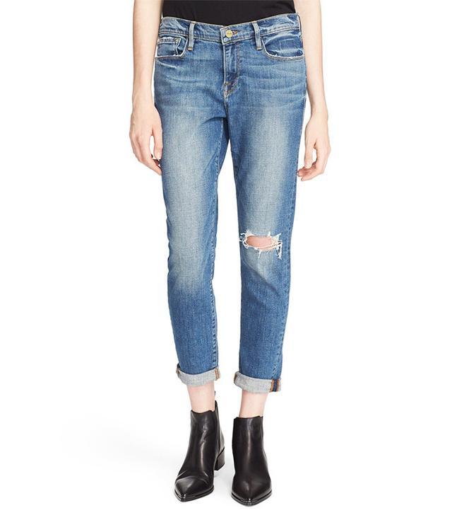 Frame Le Garçon Boyfriend Jeans
